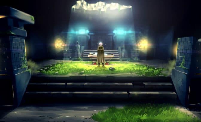 Sword of the Necromancer - Tama face au corps de Koko