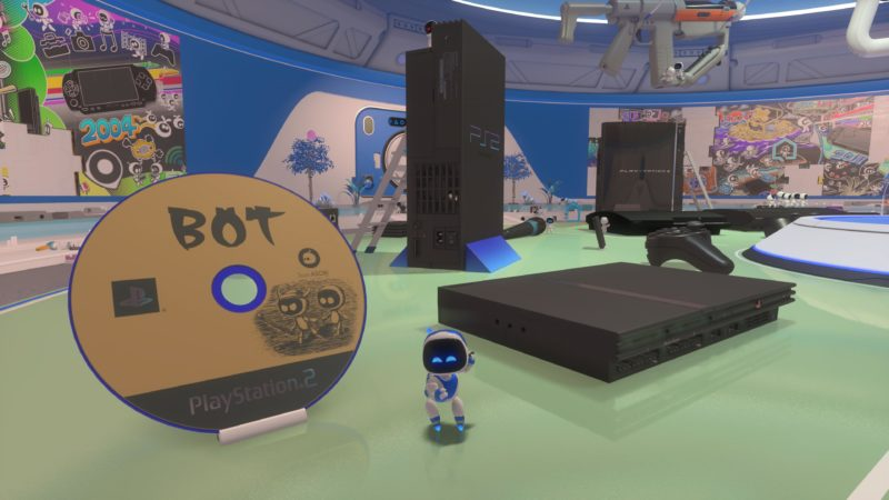 Test Astro's Playroom - Univers PS2