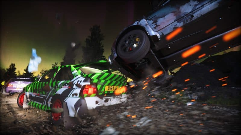 Test DiRT 5 - Accident