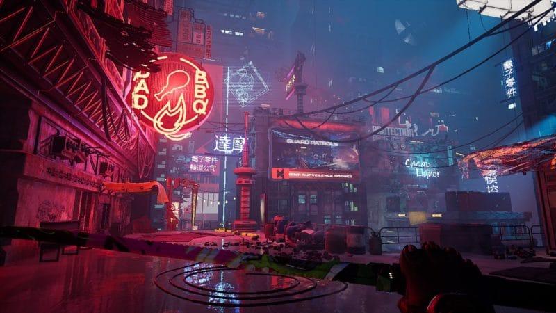 Ville de Ghostrunner