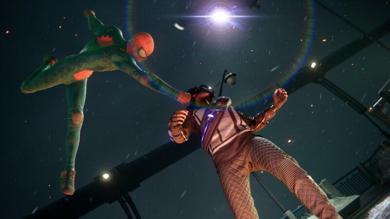 Spider-Man: Miles Morales - attaque