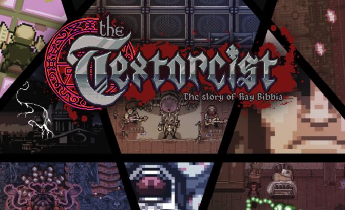 The Textorcist - Un titre dans le pur style gothique