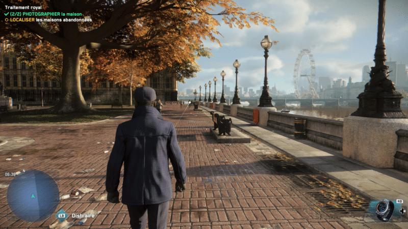 Watch Dogs: Legion promenade quai