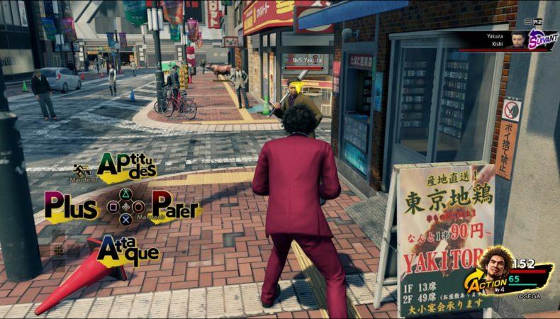 Yakuza: Like a Dragon Combats