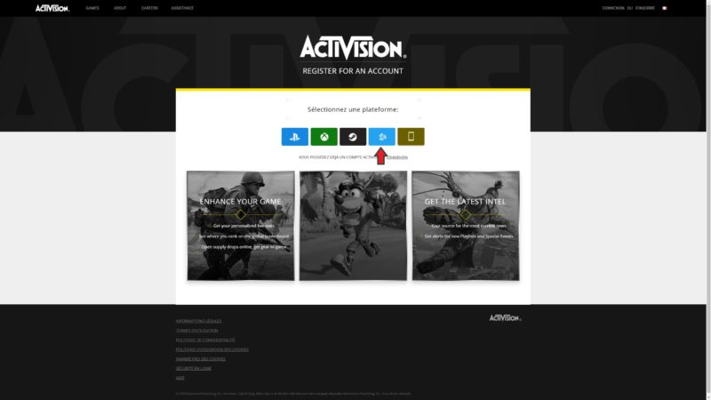 Call of Duty: Black Ops Cold War inscription activision
