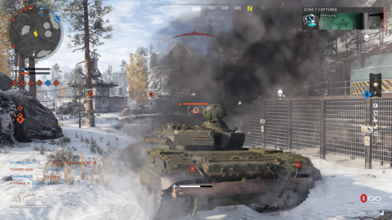 Call of Duty: Black Ops Cold War tank multi