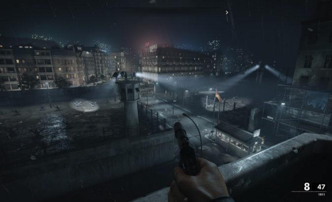 Call of Duty: Black Ops Cold War mur berlin