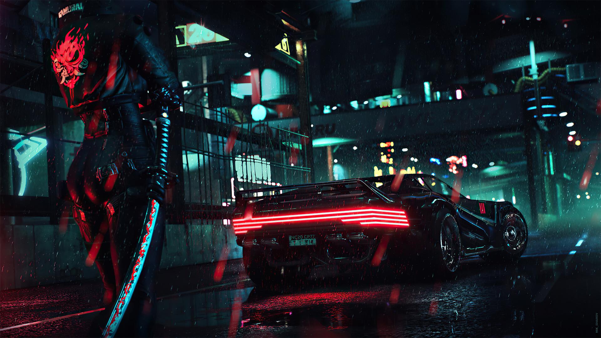 Cyberpunk 2077 sur PS4 Pro combat la PS5