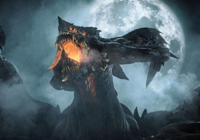 Demon's Souls dragon