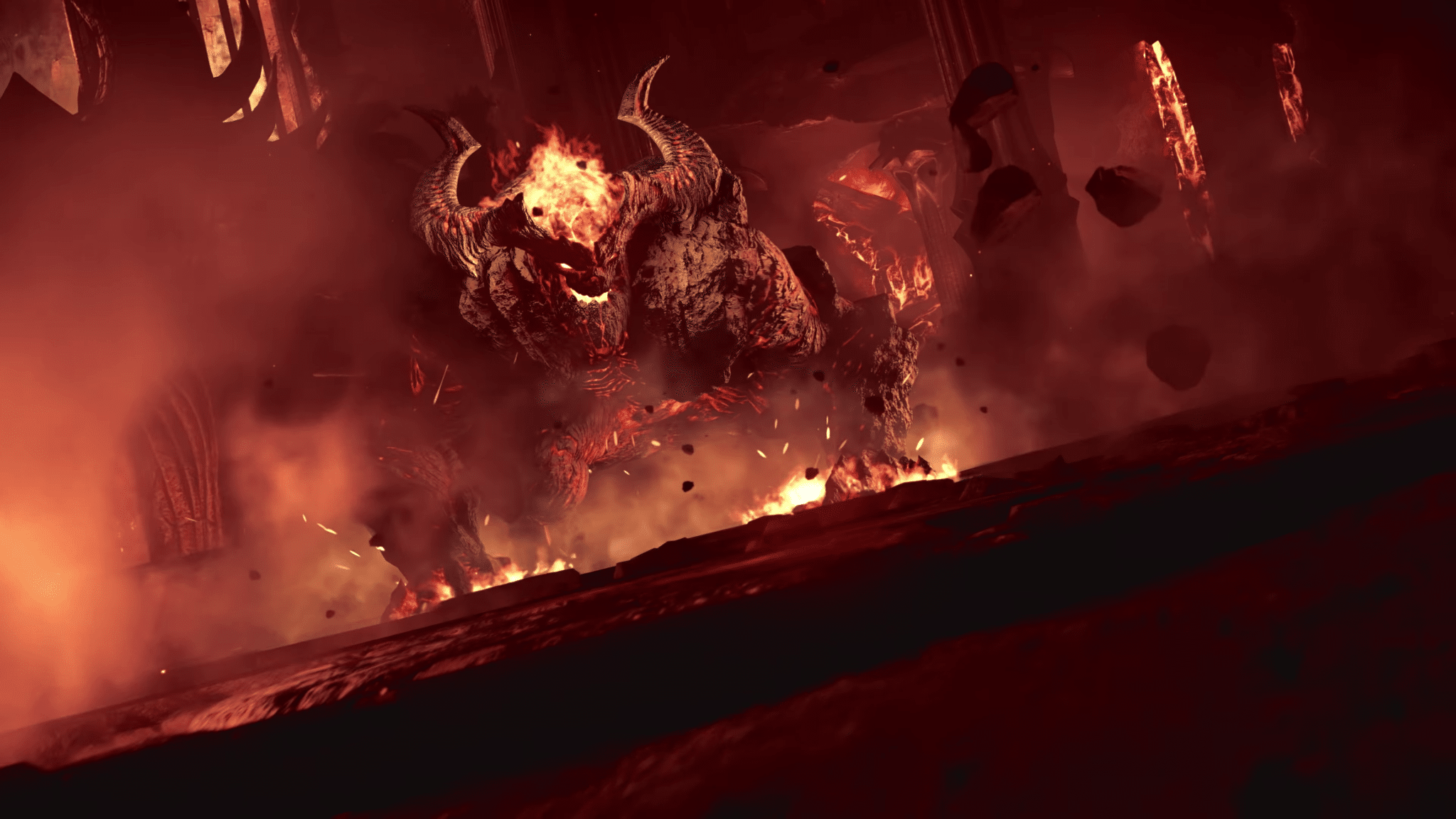 Demon's Souls rôdeur enflammé