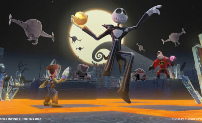 Disney Infinity Jack Skellington