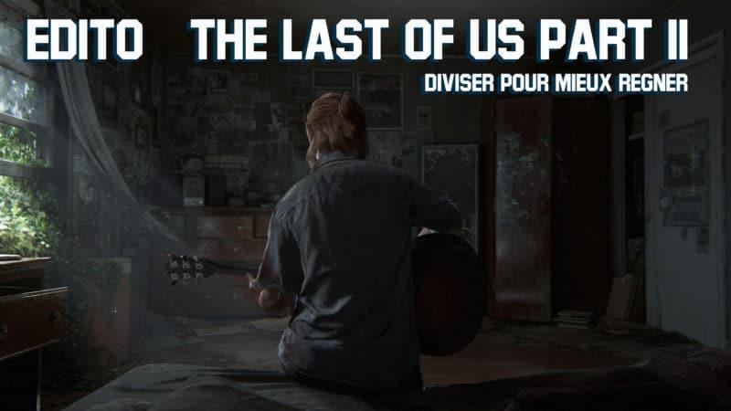 The Last of Us Part II edito