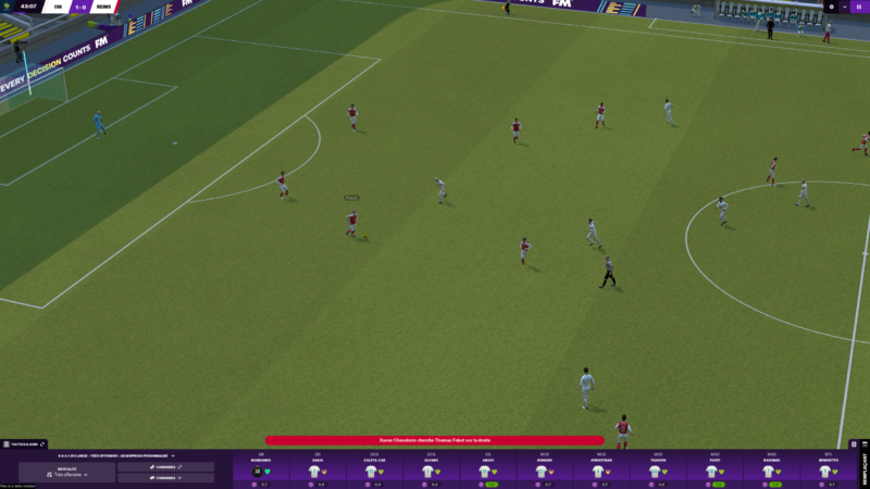 Football Manager 2021 terrain