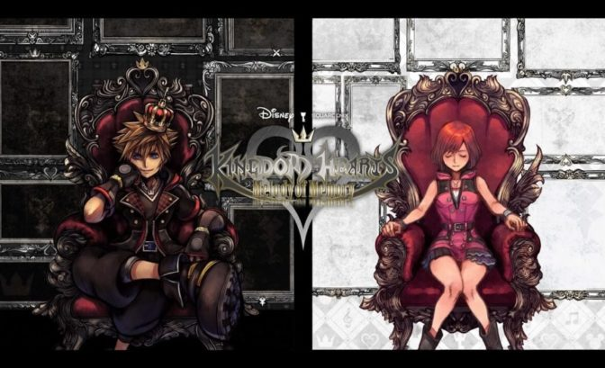 Kingdom Hearts Melody of Memory Ecran de demarrage