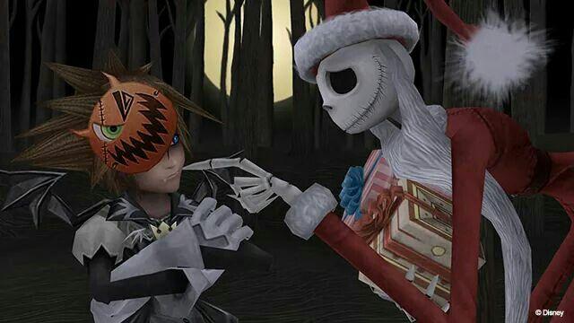 Kingdom Hearts Jack retrouve Sora