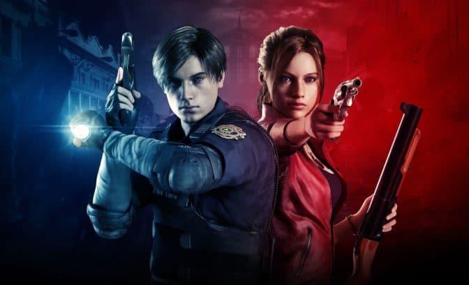 Resident Evil 2 remake Léon et Claire