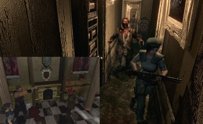 Resident evil orginal vs. remake