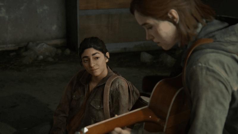 The Last of Us Part II ellie dina 2