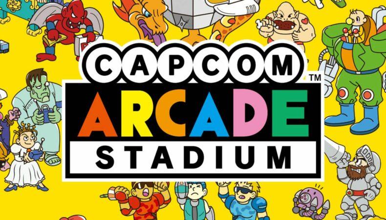 Capcom Arcade Stadium - réunion d'icone de Capcom