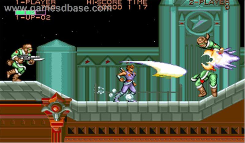 Capcom Arcade Stadium - Strider