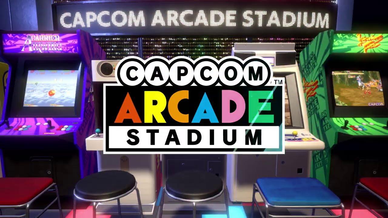 Capcom Arcade Stadium - salle d'arcade portable