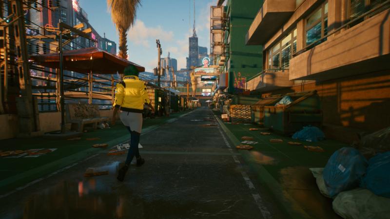 cyberpunk 2077 promenade