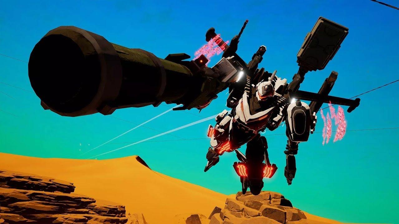 Daemon X Machina - Gros robots et gros flingues
