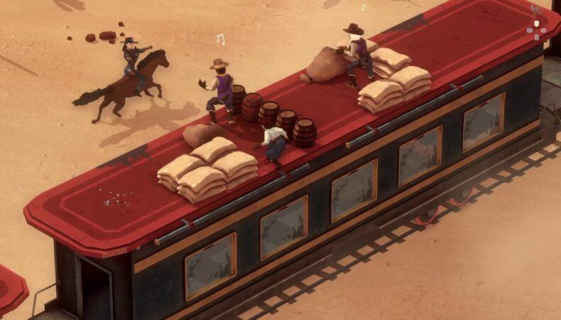 El Hijo: A Wild West Tale - La mama face en pleine action sur un train