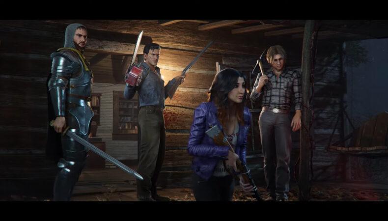 Evil Dead the game trailer d'annonce