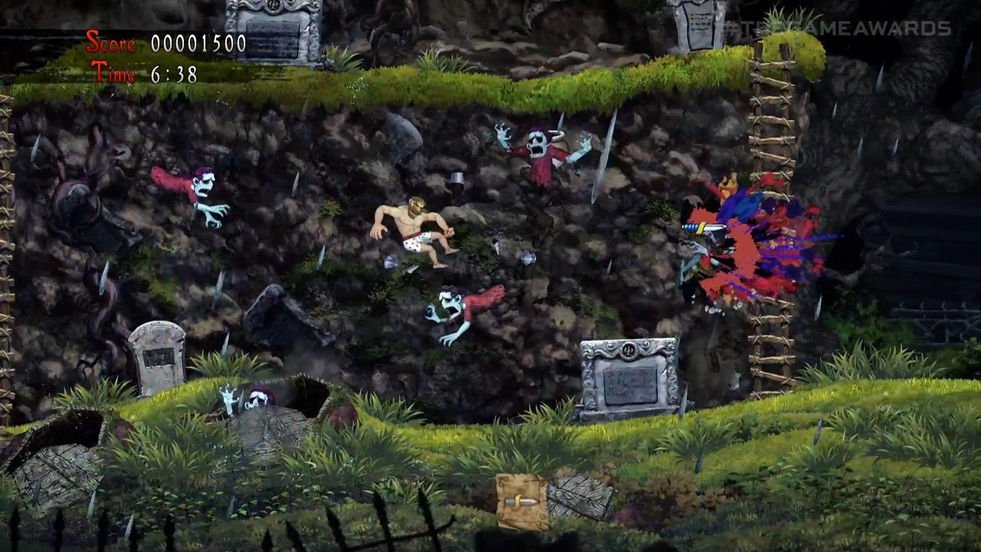 Ghost 'n Goblins Resurrection - Arthur en caleçon