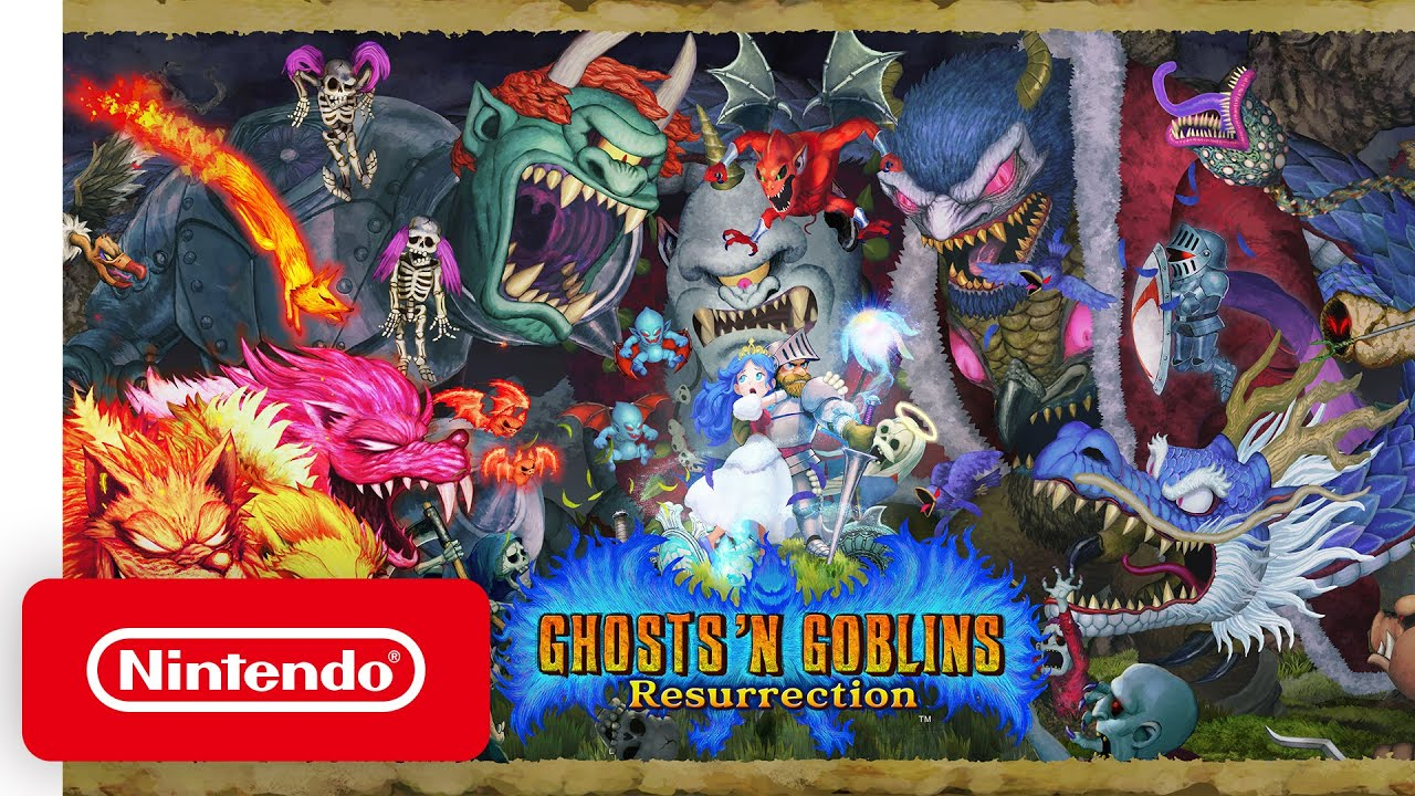 Ghosts 'n Goblins Resurrection - Arthur est de retour