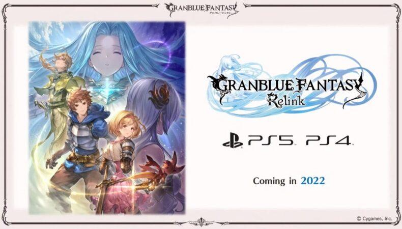 Granblue Fantasy Relink - date PS5 et PS4