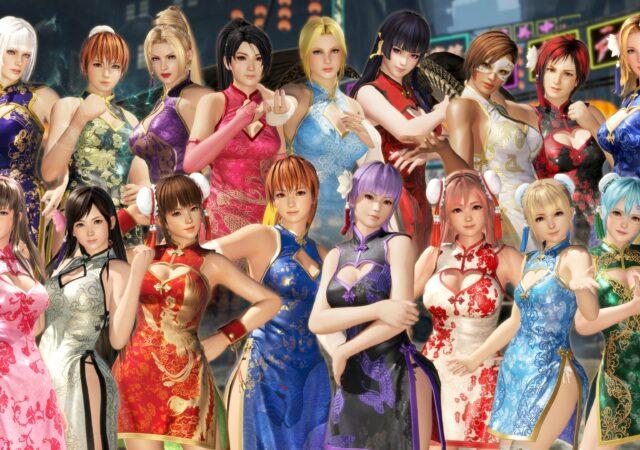 Koei Tecmo DoA Characters