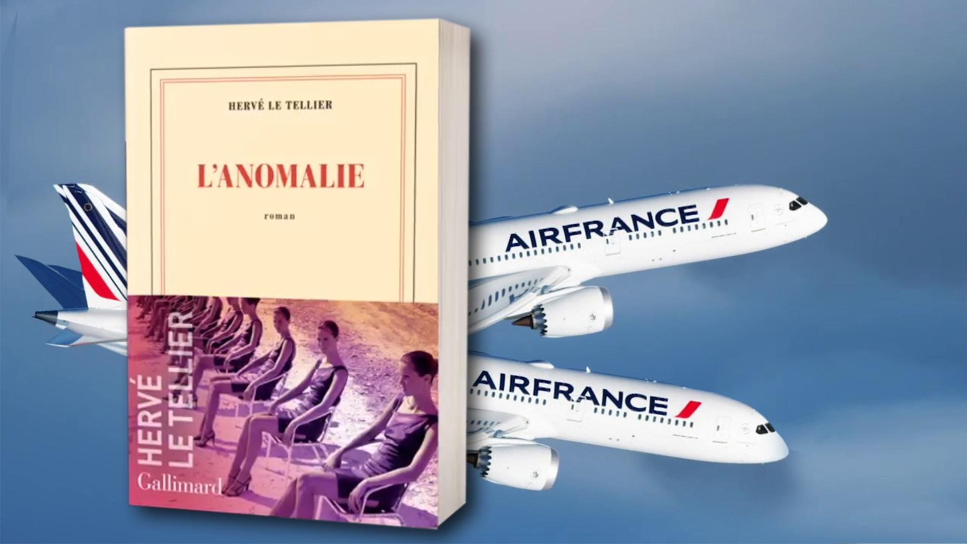 L'anomalie Le Tellier Goncourt