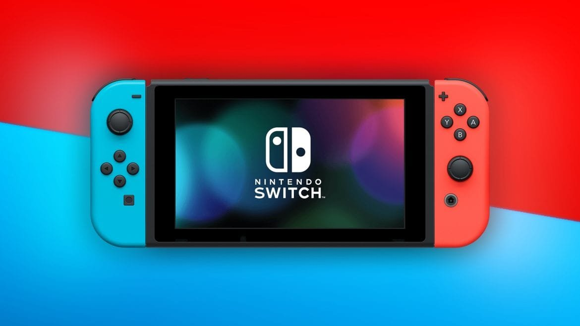 Nintendo Switch - Bicolore