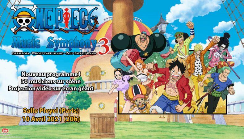 One Piece Music Symphony troisième édition