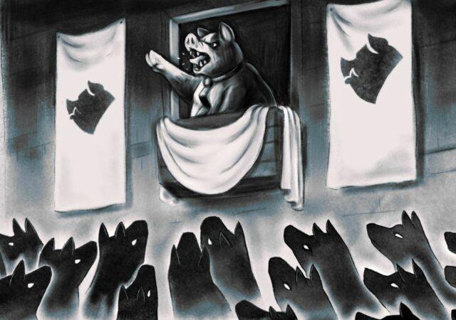 Orwell's Animal Farm dictature