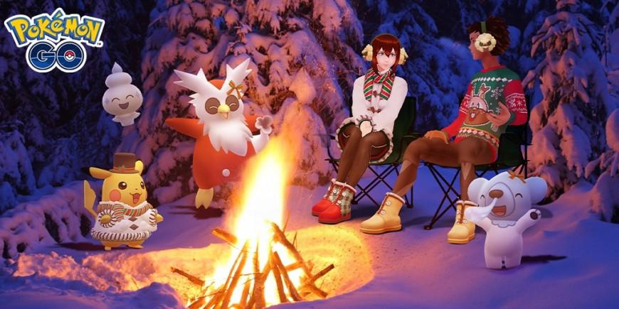 Pokémon GO - L'hiver vite fait