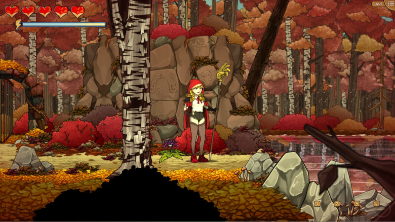 Scarlet Hood and the Wicked Wood - Scarlet début son aventure dans Wicked Wood