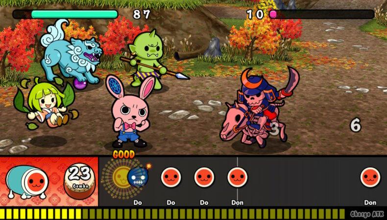 Taiko no Tatsujin: Rhythmic Adventure Pack - combat