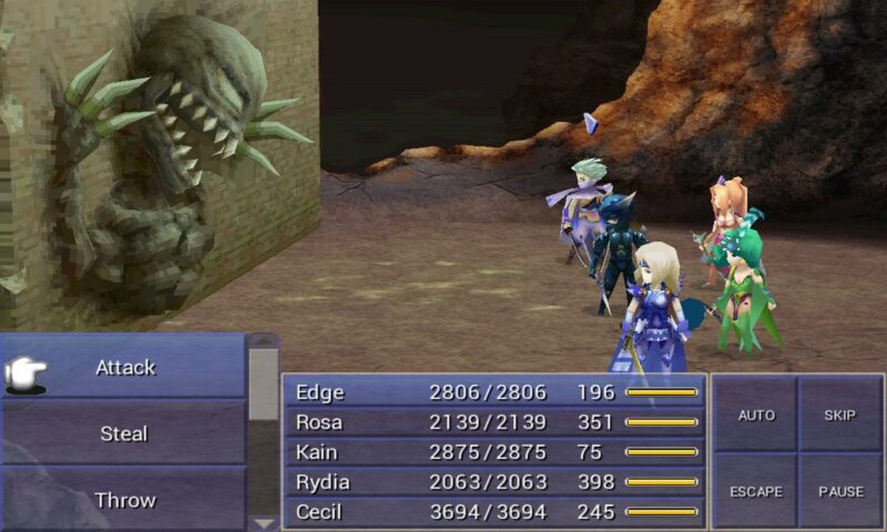 War of the Visions FF 4 3D