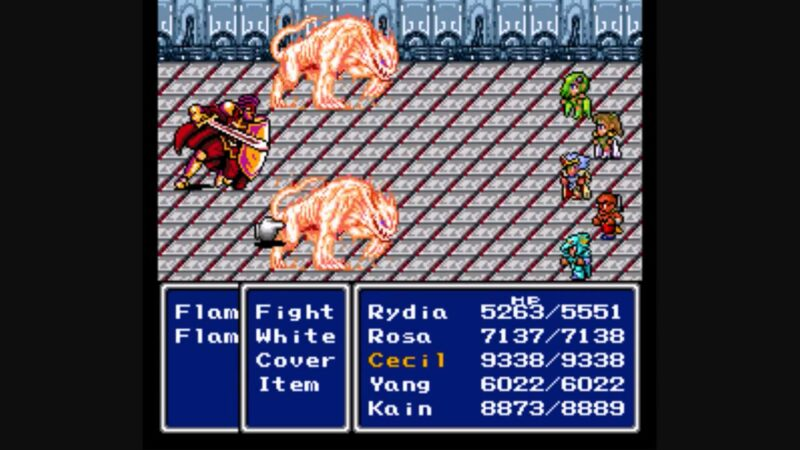 War of the Visions FF 4 SNES