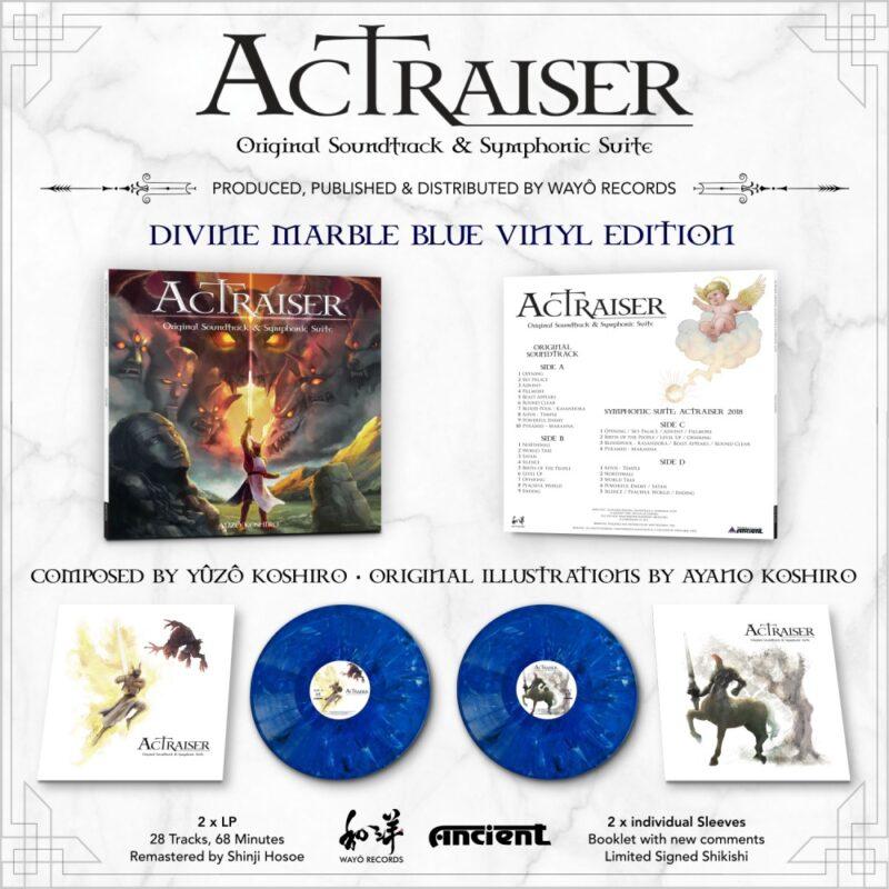 actraiser - visuel vinyle