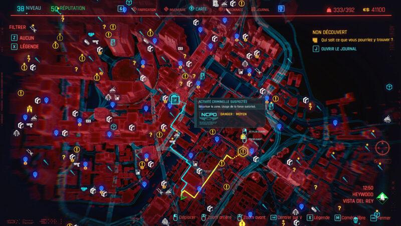 cyberpunk 2077 map 4