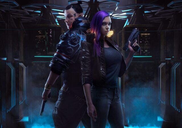 cyberpunk 2077 personnages art