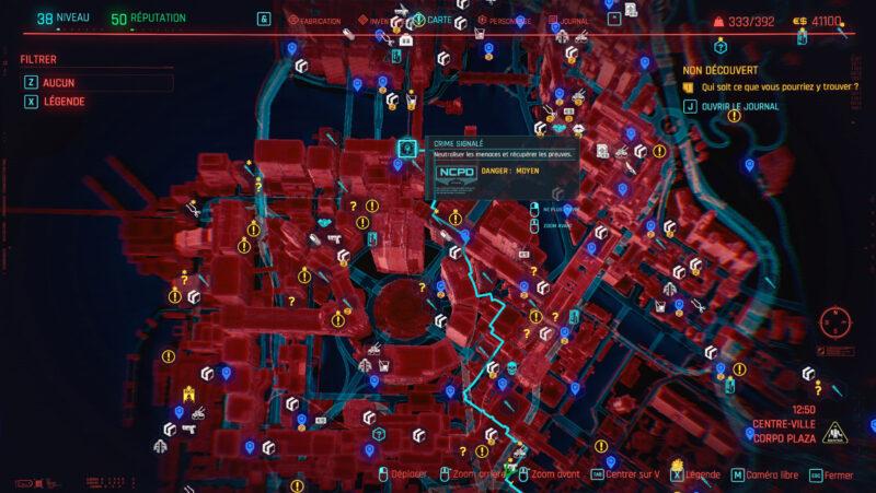 cyberpunk 2077 map 3