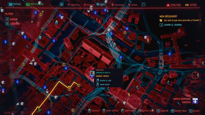 cyberpunk 2077 map 2