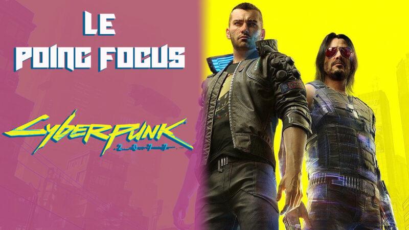 Cyberpunk 2077 poing focus une
