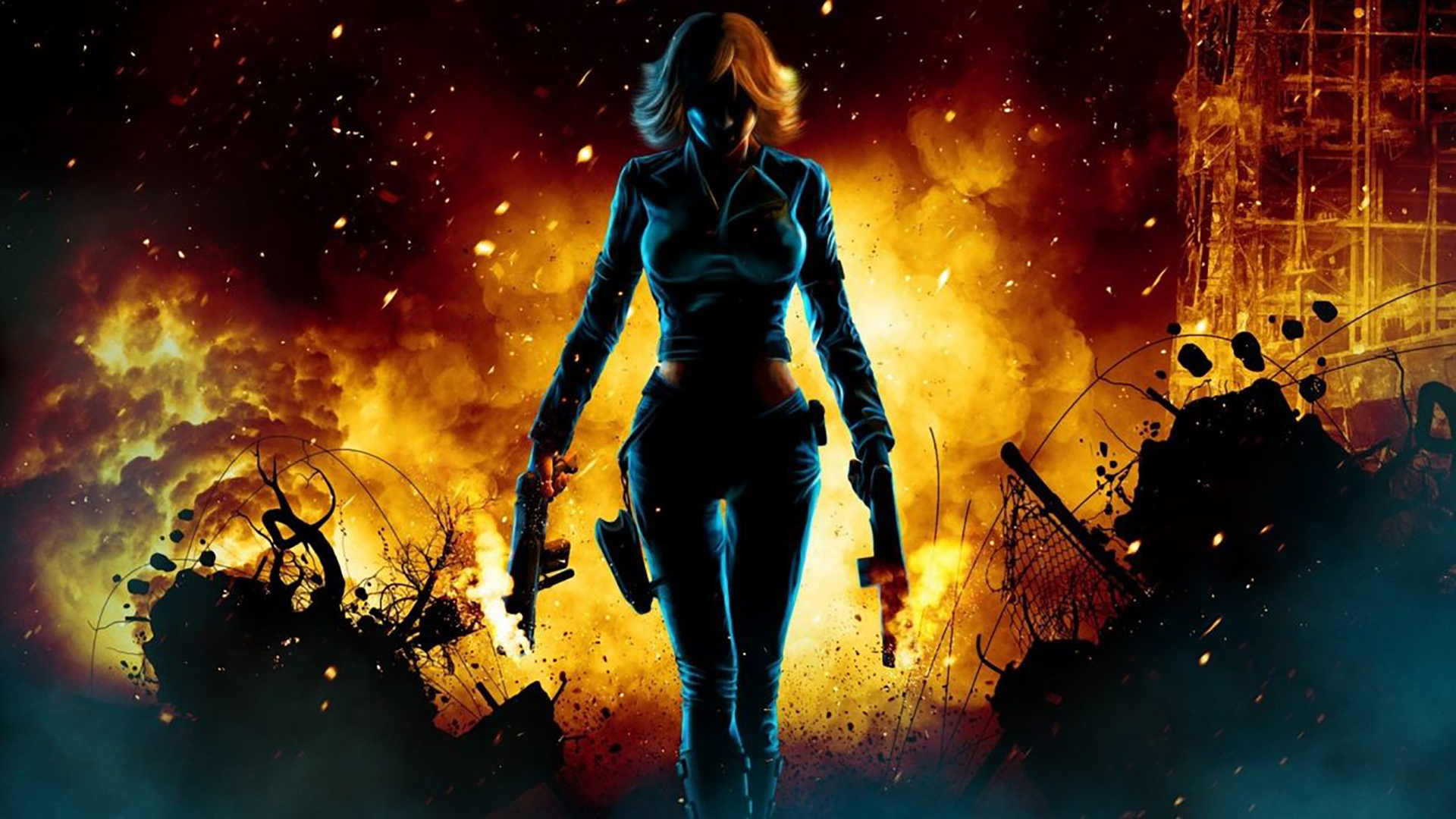 perfect dark teaser art
