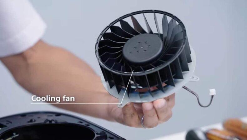 Ventilateur de la PlayStation 5